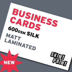 600gsm Matt Laminated Business Cards