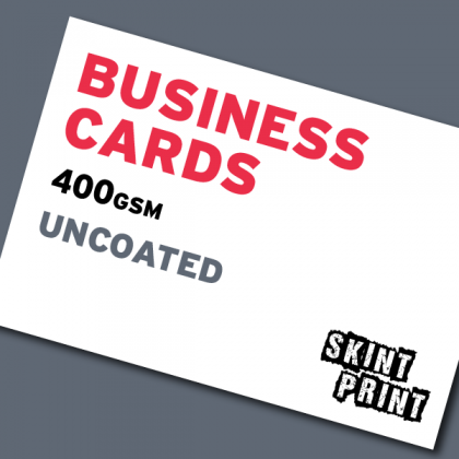 400gsm Uncoated / Offset Business Cards